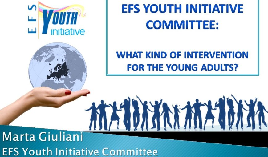 EFS Youth Initiative Committee what kind of intervention for the young adults - definitive